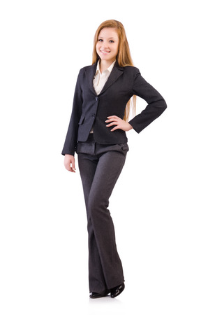 working dress: Woman businesswoman in business concept
