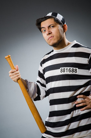 lawbreaker: Funny prison inmate in concept