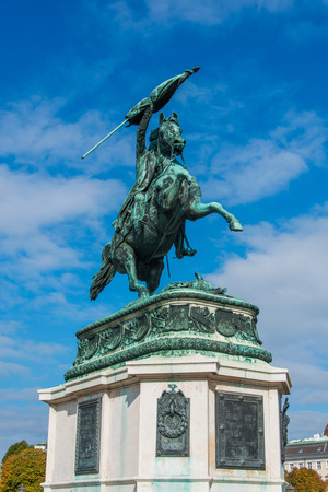 archduke: Statue of Archduke Charles in Vienna, Austria