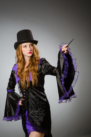 conjuror: Witch doing her dirty tricks