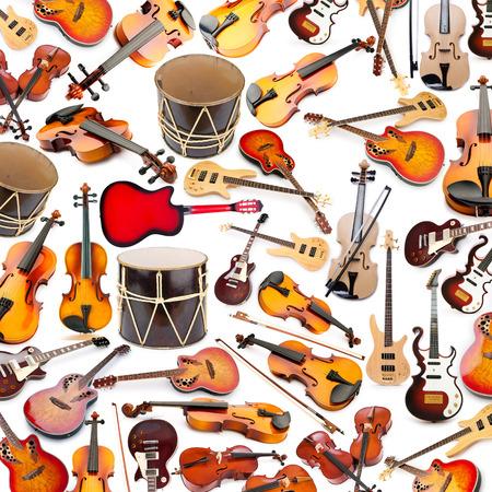 nagara: Background made of many musical instruments
