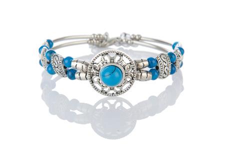 armlet: Nice bracelet isolated on white