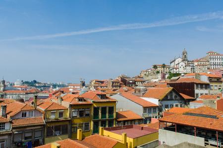 porto: Scenic view of Porto city Stock Photo