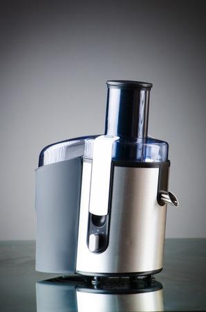 extractor: Juice extractor in kitchenware concept