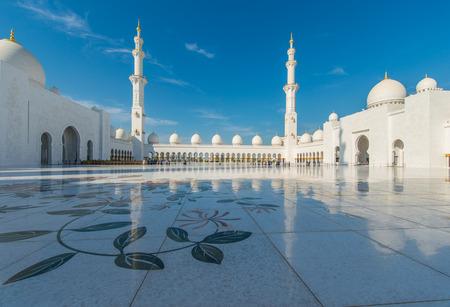 sheikh zayed mosque: Sheikh Zayed Mosque in Abu Dhabi