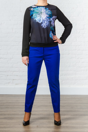 pret a porter: Clothing for the pregnant woman Stock Photo