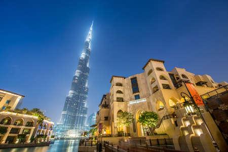 dubai mall: Dubai - JANUARY 9, 2015: Burj Khalifa building on January 9 in UAE, Dubai. Burj Khalifa skyscraper is tallest in the world