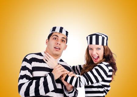 prisoners: Pair of prisoners against the gradient