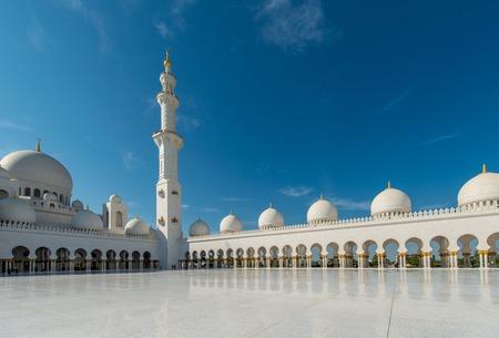 zayed: Sheikh Zayed Mosque in Abu Dhabi