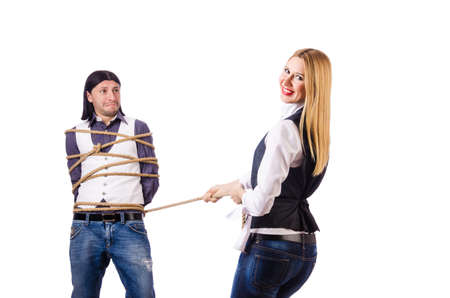 conflicto: Los conflictos familiares con el hombre y la mujer