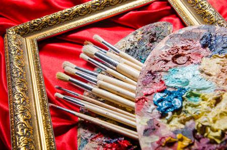 paleta: Paleta del artista en el arte conceptual