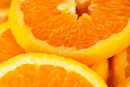 Orange slice background Stock Photo - 448105