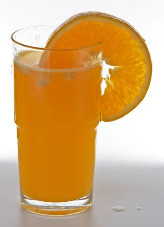 A glass of fresh and healthy orange juice Stock Photo - 448102