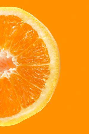 Fresh colored orange background Stock Photo - 448097