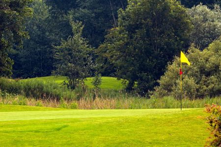 golf landscape photo