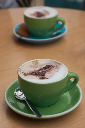 coffee with trendy colors Stock Photo - 452226