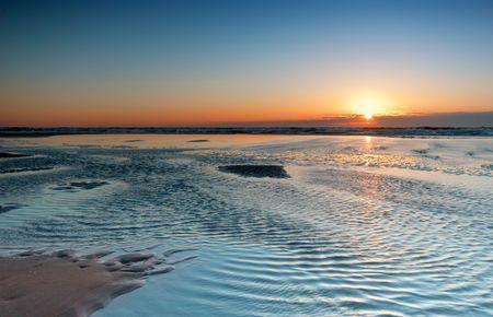 beautiful sunset landscape photo Stock Photo - 482752