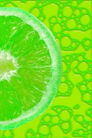 lime slice background Stock Photo - 488879