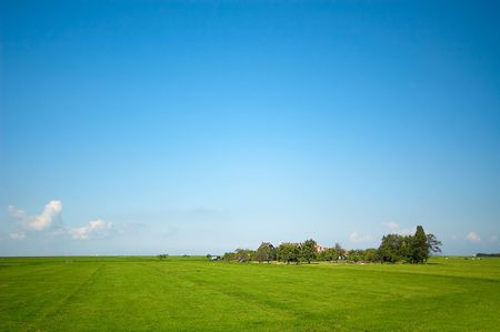a summer landscape photo