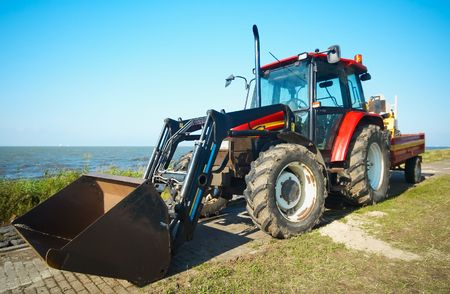 a big tractor photo