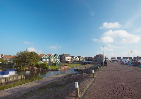 an old fishing village in the netherlands Stock Photo - 488797