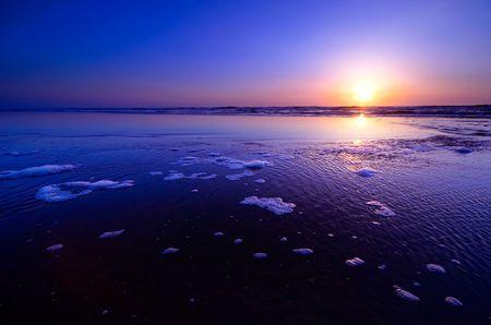 a beautiful sunset landscape Stock fotó