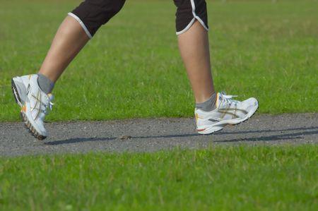 woman running Stock Photo - 495948