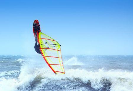 wind surf: extrema del windsurf