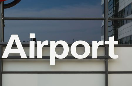 Photo of the word Airport Stock fotó