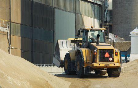 A bulldozer in action Stock Photo - 533075