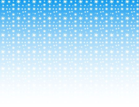 sky: white and blue winter snowflake background Stock Photo