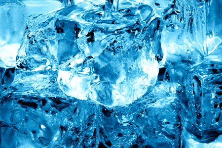 icecubes: icecubes and fresh water Stock Photo