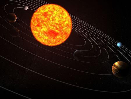 solar system Stock Photo - 473955