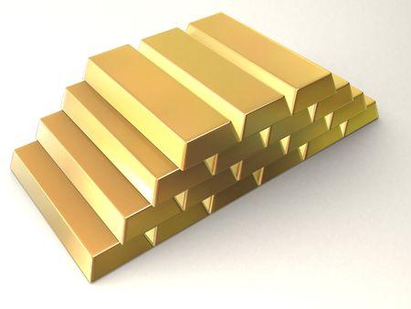 goldbars: gold bar Stock Photo