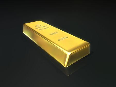 futures: gold bar Stock Photo