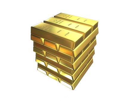 gold bars Stock Photo - 488547