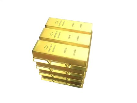 gold bars Stock Photo - 488545