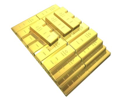 gold bars Stock Photo - 488546