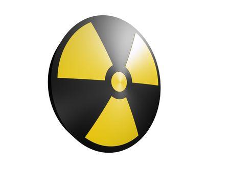 radioactive sign Stock Photo - 511545