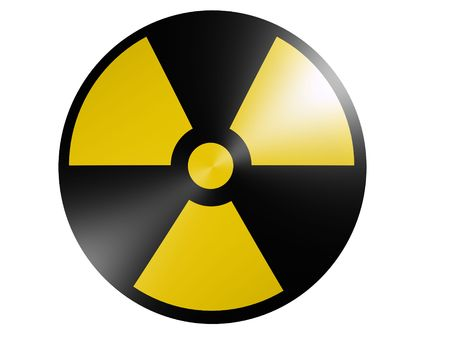 nuclear fusion: radioactive sign