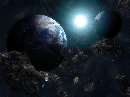 space scene photo