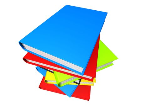 3d: livres 3d Banque d'images