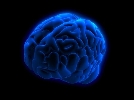 blue brain Stock Photo - 546681