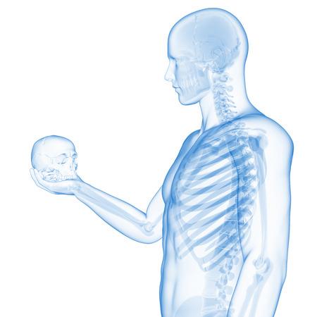 hamlet: guy holding skull - visible