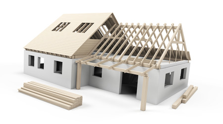 Model house construction