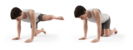 borne fontaine: kettlebell exercice - bouche d'incendie Banque d'images