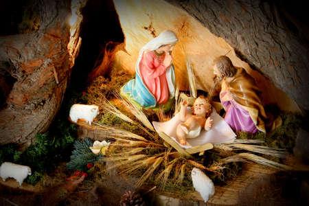 pesebre: Pesebre. Nacimiento de Navidad