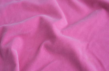 silken: Pink velvet fabric. Soft texture cloth. Look at my gallery for more backgrounds and textures Stock Photo
