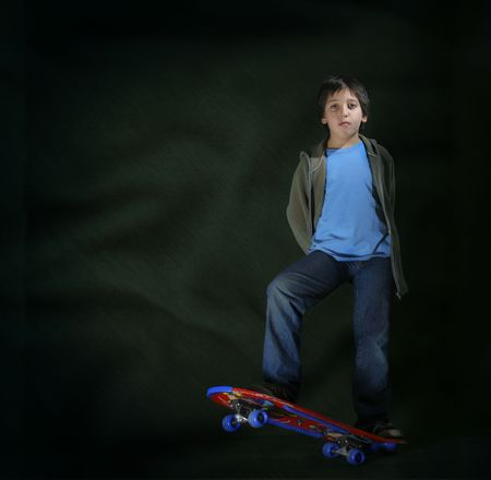 skater boy: Cool skater boy. Grunge style. Look at my gallery for more pictures of this models