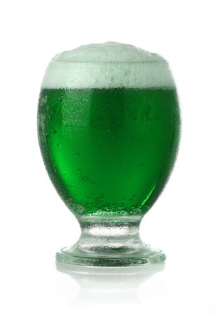St. Patricks Day green beer photo